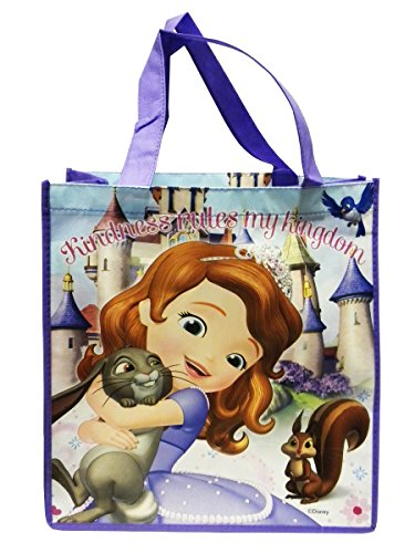 Disney Sofia the First Medium Non-Woven Bag (Purple)