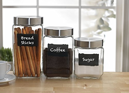 The 8 best kitchen canisters with chalkboard