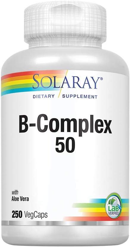 Solaray B-Complex 50-250 Capsules