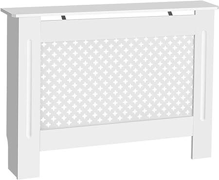 Esta cubierta para radiador tiene un moderno panel con un elegante borde biselado.,Ideal para cubrir