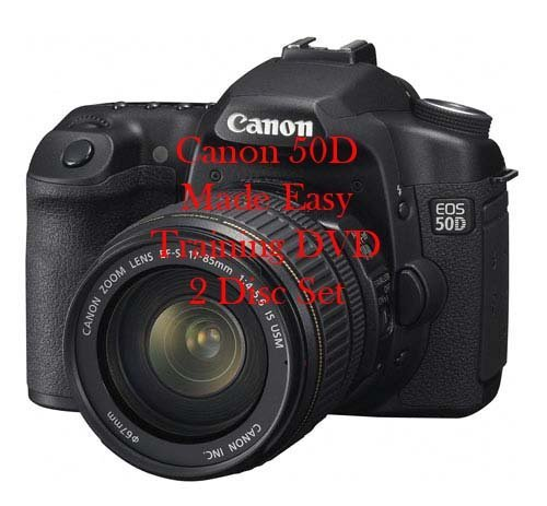 (Canon 50D Made Easy Training DVD 2 Disc)