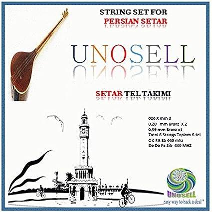 Cuerdas persas Setar