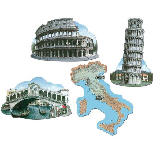 Beistle 55003 Italian Cutouts Pkg
