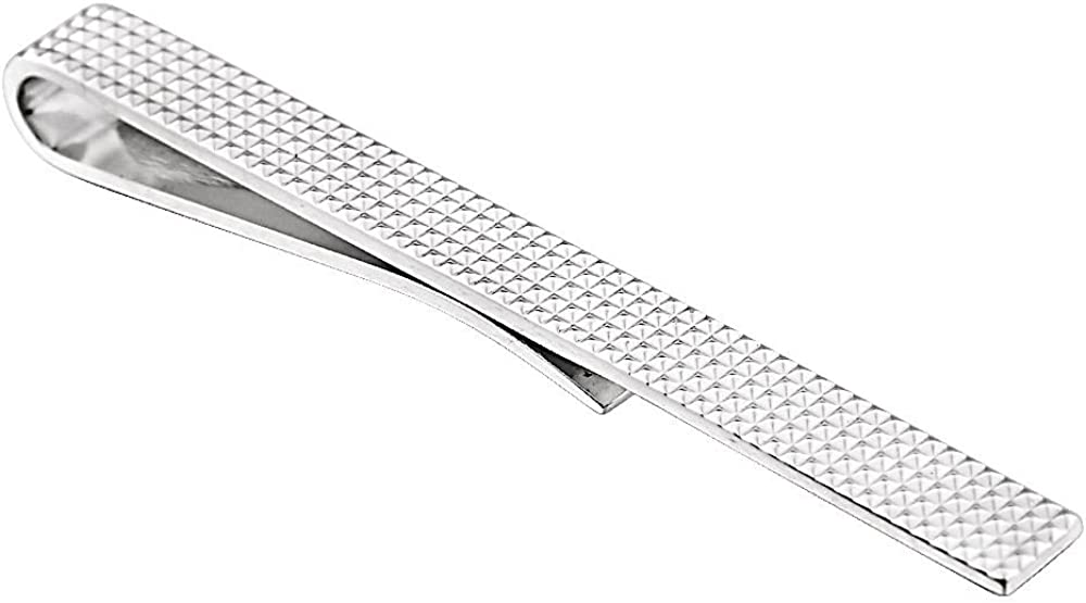 925 Sterling Silver Polished Tie Bar