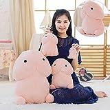 Lanlan Creative Plush Little Penis Pillows Stuffed Toys Plush Dolls Cartoon Girlfriend Funny Gift 20cm