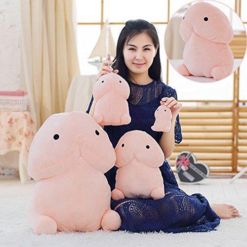Zantec Plush Stuffed Toys Little Penis Pillows Creative Plush Dolls for Girlfriend Adult Cartoon Funny Gift dingding 20cm