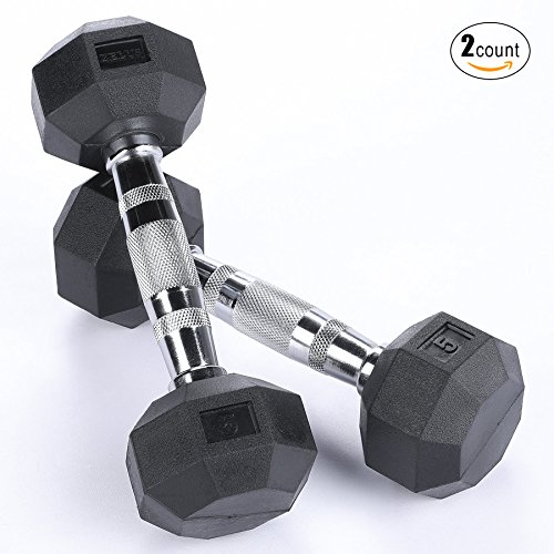 35 lbs dumbell rubber - 7