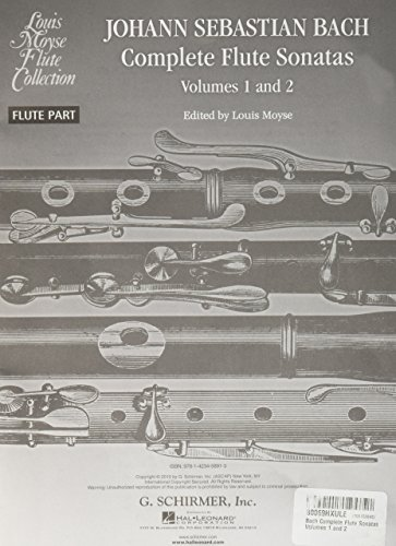 Bach Complete Flute Sonatas - Volumes 1 and 2 ()