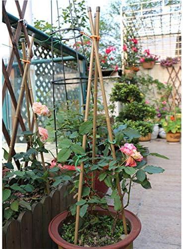 模造竹植物パイル、ガーデントマトスティック鉢植えサポート、60CM、90CM、120CM、150CM(10根)