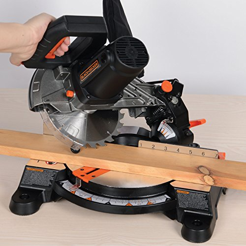 "Black+Decker M1850BD 7-1/4"" Compound Miter Saw,"