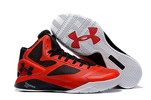 100% authentic 2cbe8 d2eb6 Galleon - Under Armour Mens ClutchFit Drive 2 Basketball Sneakers New, Black  Red (9.5)