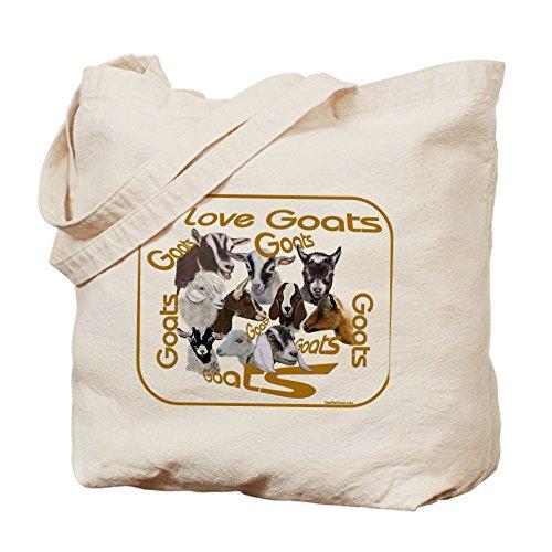 I Love capra razze Pets Tote bag by Cafepress