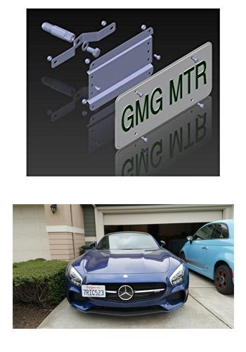 - Mercedes Benz AMG GT/GT S/GT R Models NO HOLES License Plate Bracket