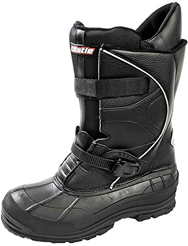 Castle X Platform Mens Snowmobile Boots - Black - 11