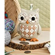 Owl Bank (1 Piece) By Fashioncraft