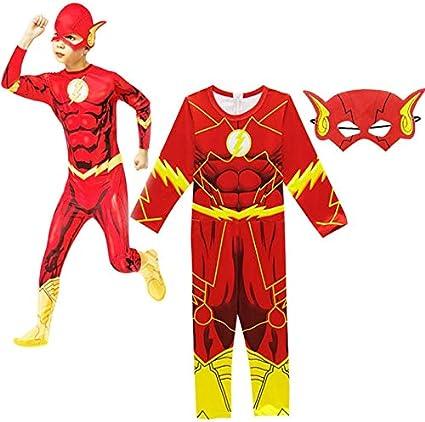 BCOGG Niños The Flash Zoom Disfraces Monos Traje Superhéroe ...