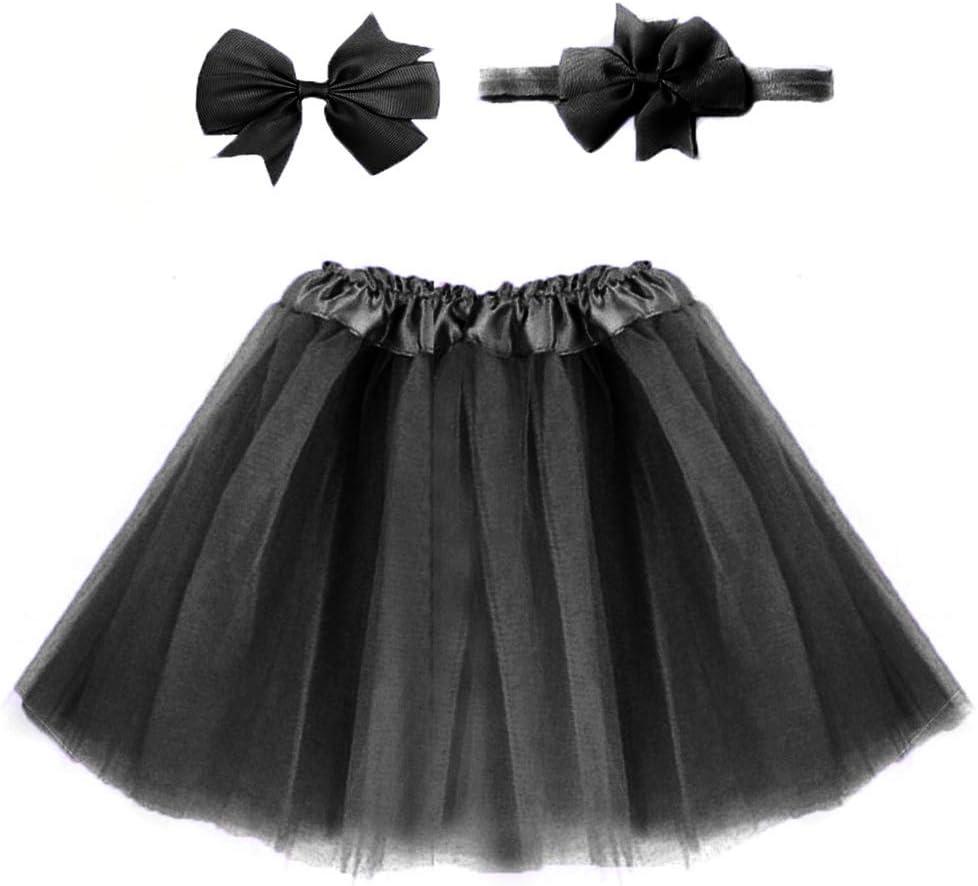Vestido de tutú de color sólido para niños/falda de tutú de tul ...