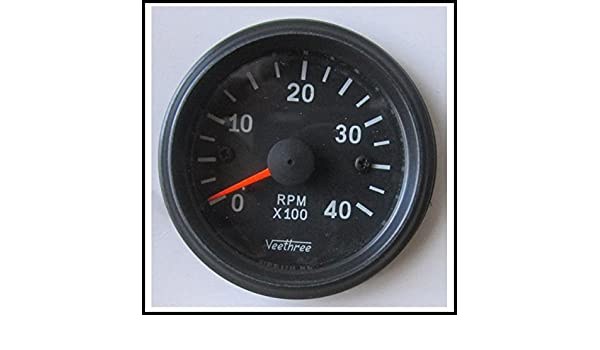Amazon Veethree 37259 Tachometer 52mm Electronic 0 4000 Bb. Amazon Veethree 37259 Tachometer 52mm Electronic 0 4000 Bb Black Automotive. Wiring. Veethree Gauges For Gas Gauge Wiring Diagrams At Scoala.co