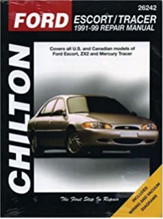 Ford escort mercury tracer 1991 2002 haynes repair manual ford escort and tracer 1991 99 chilton total car care series manuals fandeluxe Choice Image