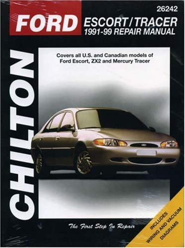 Ford Escort and Tracer, 1991-99 (Chilton Total Car Care Series Manuals)