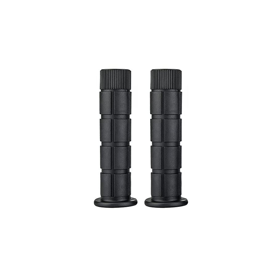 SAPLIZE Bike Handlebar Grips, ECO Friendly Soft Material, Anti Slip, Boy Girl Kids Bikes/Scooters, BMX/MTB/Road/Mountain/Urban Bikes