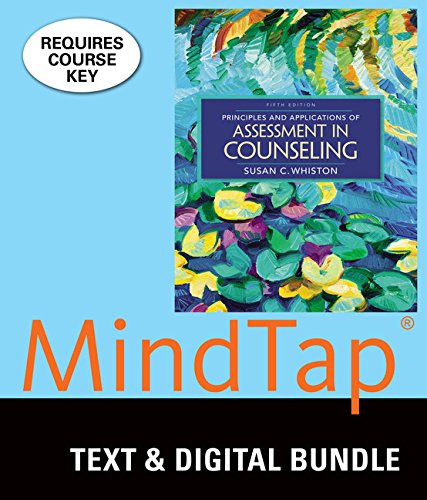 Bundle: Principles and Applications of Assessment in Counseling, Loose-leaf Version, 5th + LMS Integrated MindTap Counseling, 1 term (6 months) Printed Access Card (Susan C Whiston)