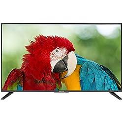 "Komodo by Sceptre 43"" LED HDTV 3x HDMI 2.0 HDCP 2.2, Metal Black 2018"