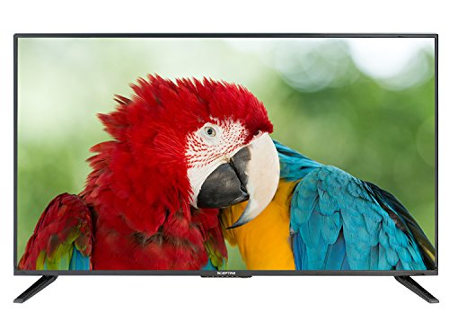 "Komodo by Sceptre 43"" LED HDTV 3x HDMI 2.0 HDCP 2.2, Metal Black 2018"