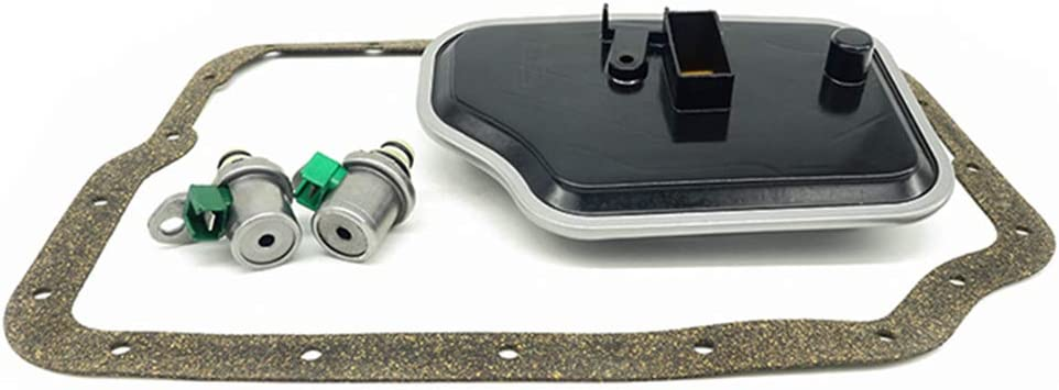 Baosity 4 Pieces 4F27E FN4AEL 4-Speed Trans Shift Solenoid Filter Service for Ford/&Mazda