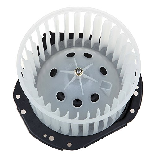 OCPTY A/C Heater Blower Motor ABS w/Fan Cage Air Conditioning HVAC Replacement fit for 1980-1986 Chevrolet K5 Blazer/1979-1983 Chevrolet Malibu/1980-1985 GMC C1500 Suburban/1975-1977 GMC C25