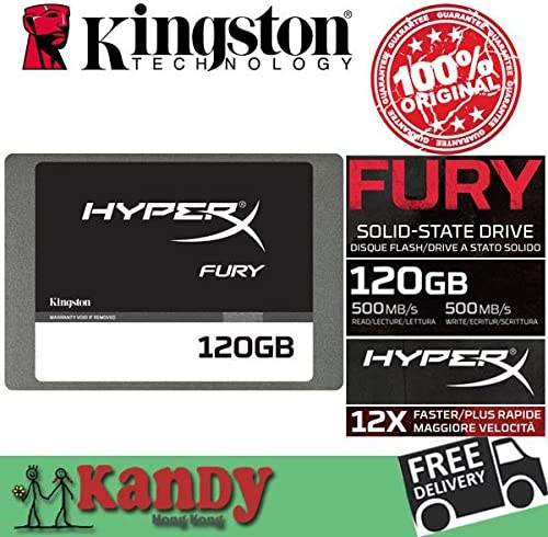 ARBUYSHOP Kingston HyperX SSD de 128 GB HDD Furia 120gb SATA ...
