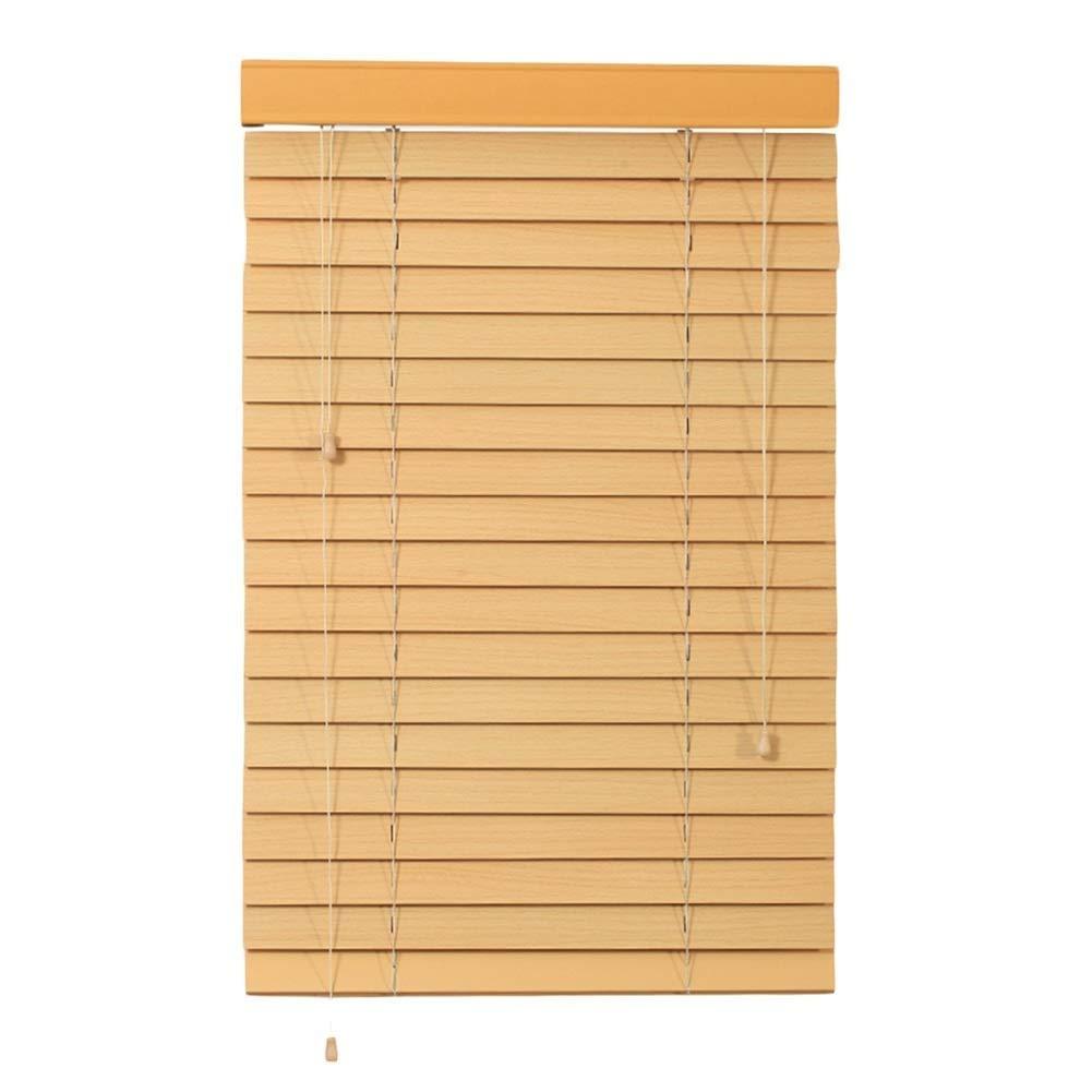 遮光フィルターブラインド、ニレ材製ブラインド、遮光カーテン - リビングルーム、書斎、ベッドルーム、バルコニー、茶室 ZHANGAIZHEN (Color : Wood, Size : 135×225cm) 135×225cm Wood B07SPTLPSG