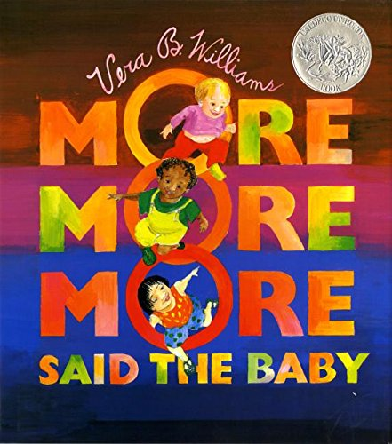 Book Cover: More More More, Said the Baby