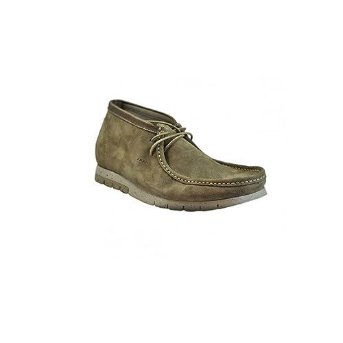 varietà larghe scarpe a buon mercato vendita outlet Frau Scarpe Uomo Polacchino in camoscio Beige 15A6: Amazon ...