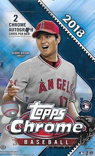 2018 Topps Chrome MLB Baseball HOBBY box (24 pk)