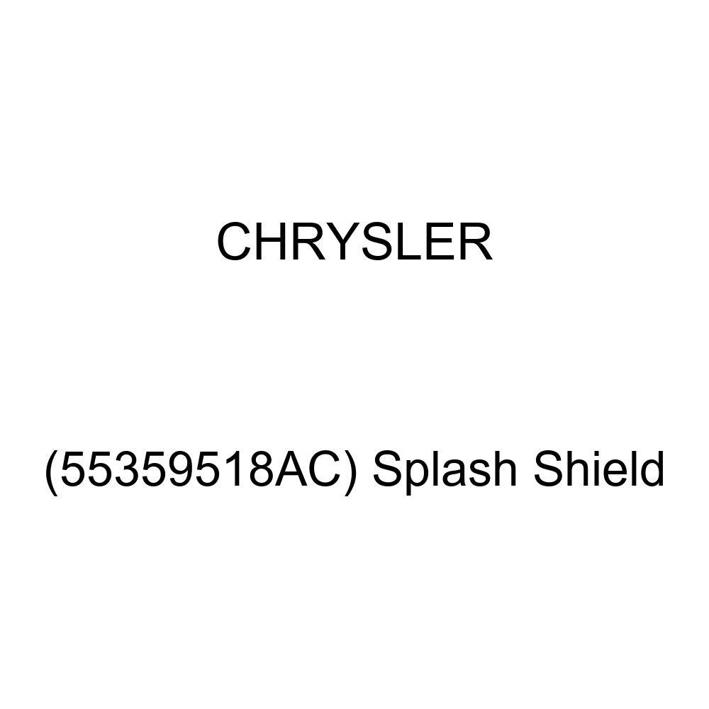 Splash Shield 55359518AC Chrysler Genuine