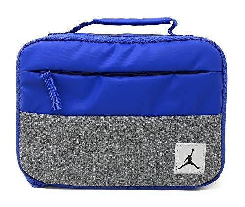 Nike Jordan Kids Pivot Fuel Pack Insulated Lunch Box (Hyper Royal) (Michael Jordan Lunch Box)