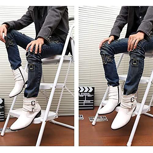 4389aed6ba354b Uomo Scarpe Stivali Alpinismo Invernali White Piedi Da Equitazione Viaggio  A Alti 5qSRq4wx
