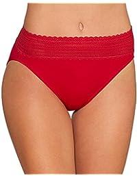 Women's No Pinching No Problems Lace Hi Cut Brief Panty