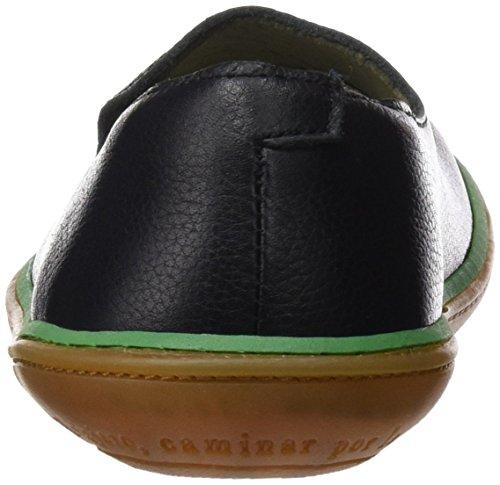 Naturalista NE08 Negro Black Cordones sin Zapatos El Hombre Green Fdg4TF