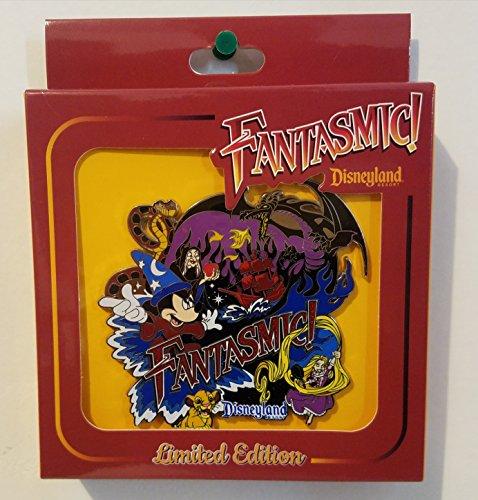 Disneyland Disney Pin (Disneyland Resort Fantasmic Trading Pin Jumbo LE Pin of 1000)