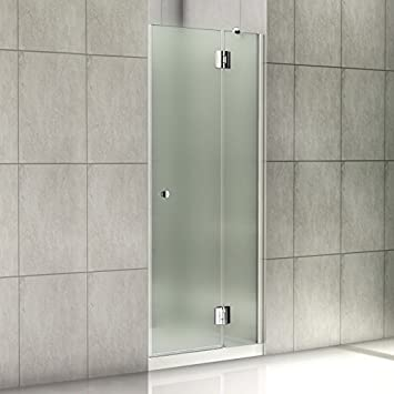 80 x 190 cm de un puerta de mampara de 8 mm de vidrio templado de