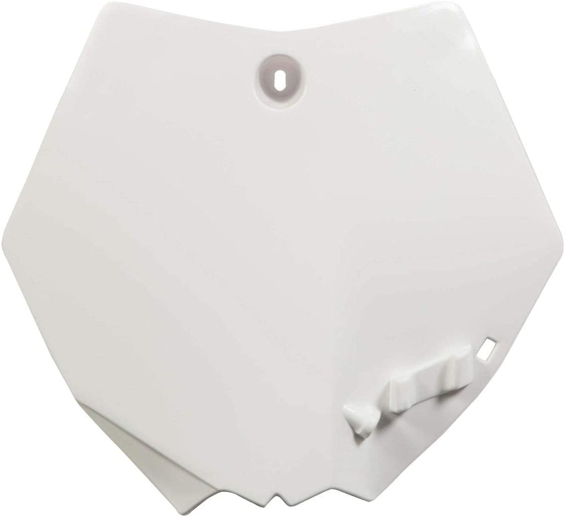 for 09-15 KTM 65SX Acerbis Front Number Plate White