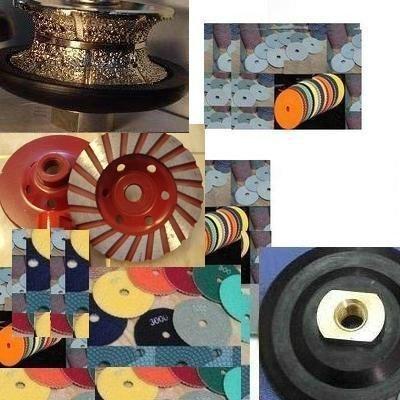 Diamond 3//4 Full Bullnose Profile Wheel V20 Router bit 5 Diamond Wet Dry polishing pad Grinding Cup Wheel for Stone Granite Concrete countertop Floor Tile Grinder terrazzo Polisher