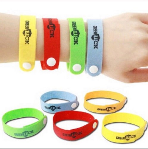 Anti Mosquito Bug Repellent Wrist Band Bracelet Insect Nets Bug Lock Nice