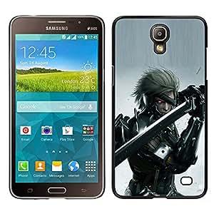 EJOY---Cubierta de la caja de protección la piel dura para el / Samsung Galaxy Mega 2 / --Cyebr Guerrero