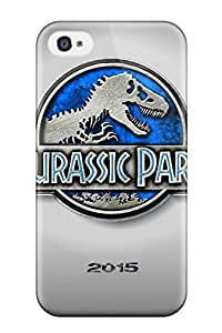 High-quality Durability Case For Iphone 4/4s(jurassic Park 4 2015)