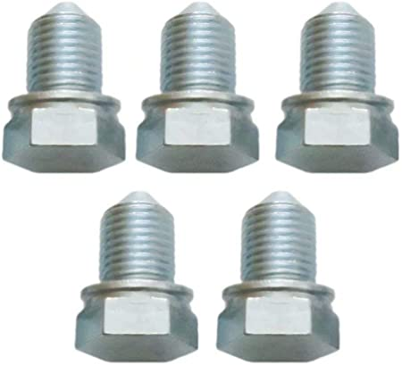 Pack of 5 Oil Drain Plug Pilot Point with Floating Washer M14-1.50 Fits for Dorman 090-171