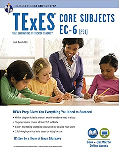 TExES Core Subjects EC-6 (291) Book + Online (TExES Teacher ...