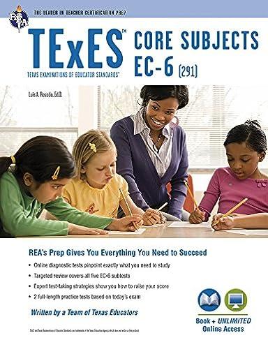 texes core subjects ec 6 291 book online texes teacher rh amazon com ec 6 generalist 291 study guide rea study guide generalist ec-6